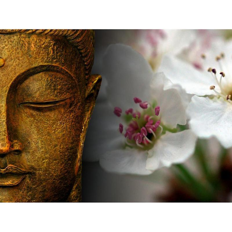 Buddha And Flowers D...