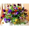 Colorful Flowers and Vases Diamond Painting Kit
