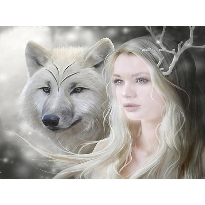 Wolf and Beauty Diam...