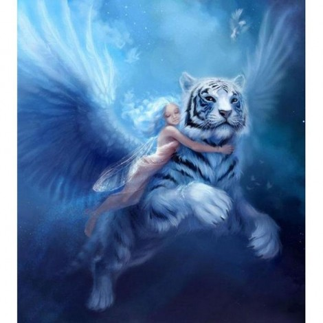 Angels And Tigers Diamond Painting Kit