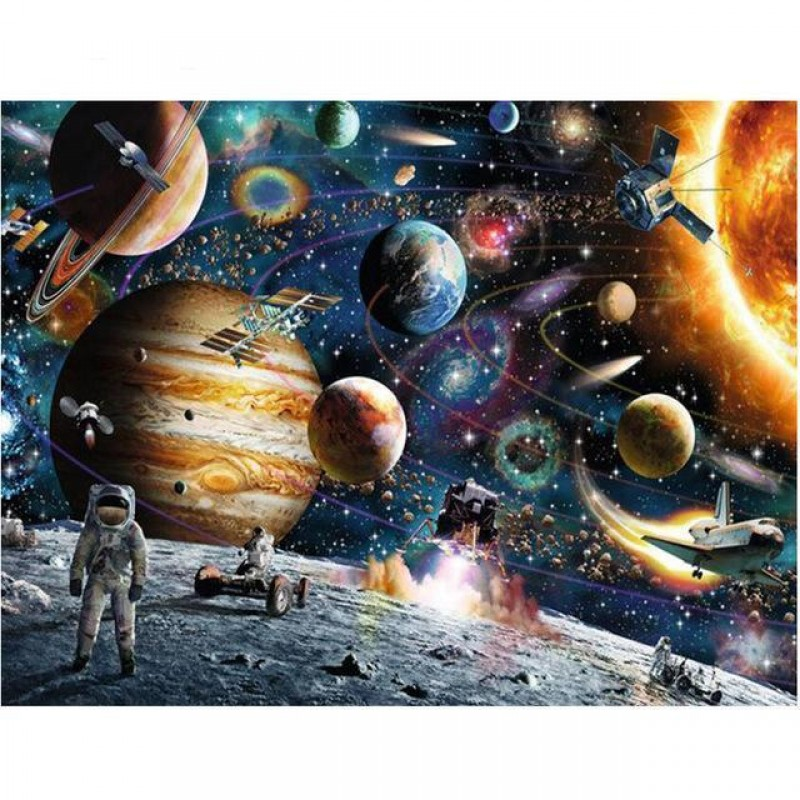 Space Planet Stars D...