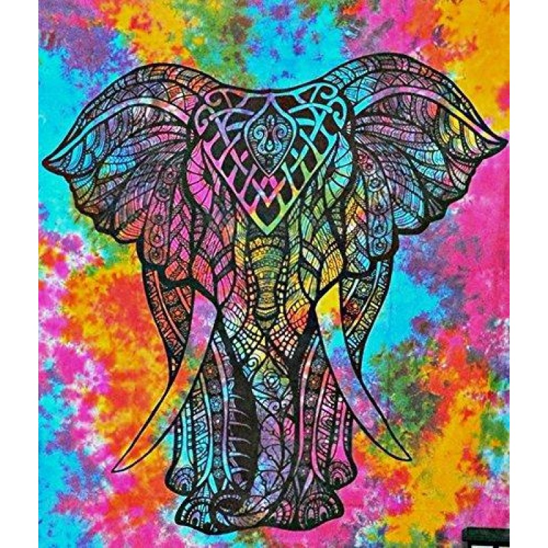 Elephant Abstract Co...