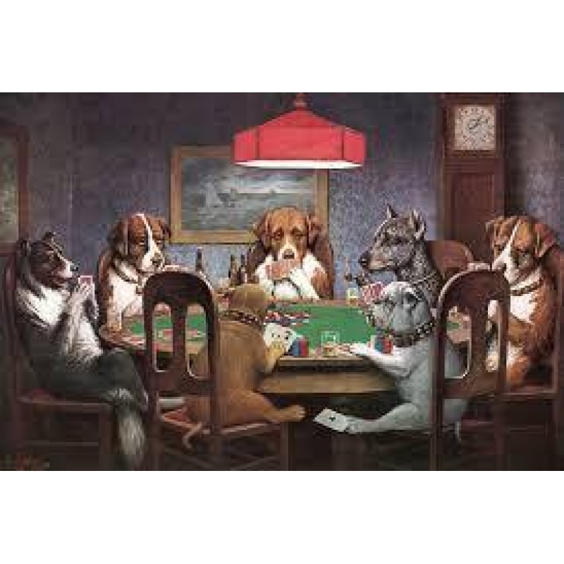 Dogs Poker Diamond P...